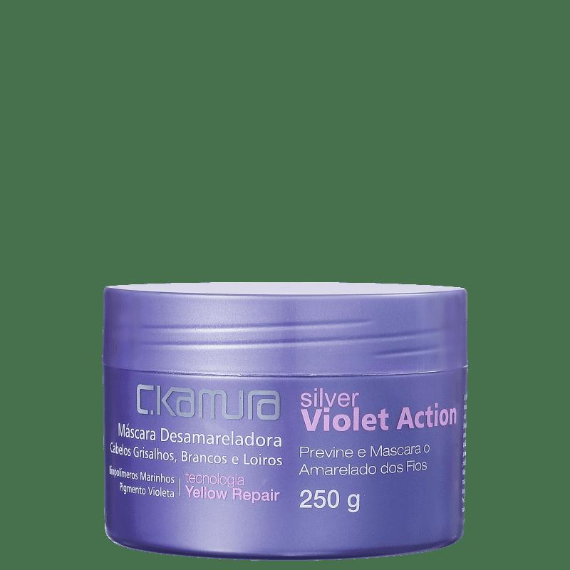 C.Kamura Silver Violet Action - Máscara Capilar 250g