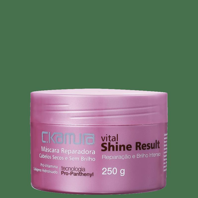 C.Kamura Vital Shine Result - Máscara Capilar 250g