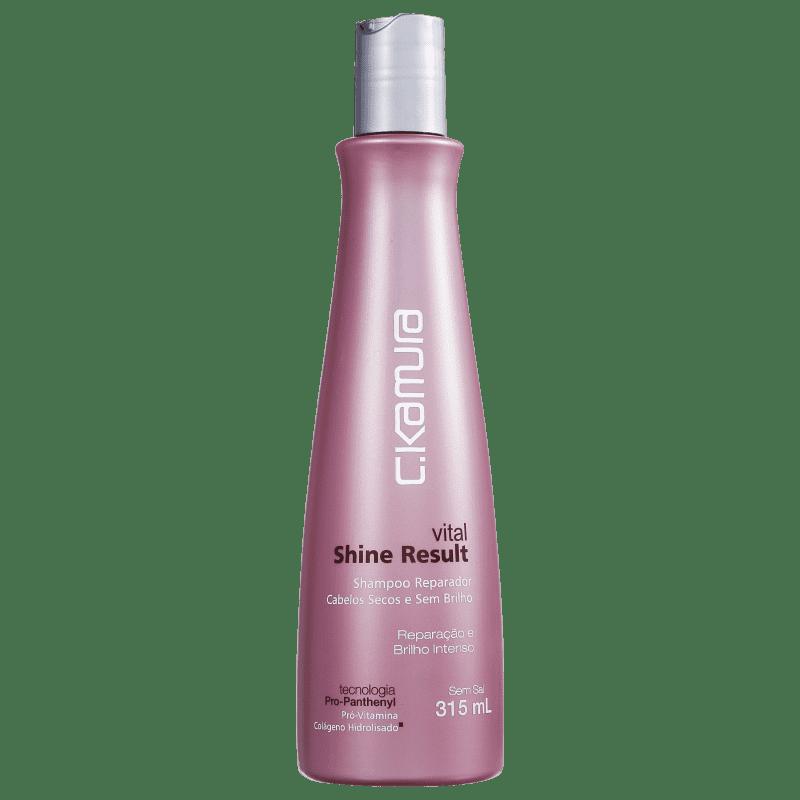 C.Kamura Vital Shine Result - Shampoo sem Sal 315ml
