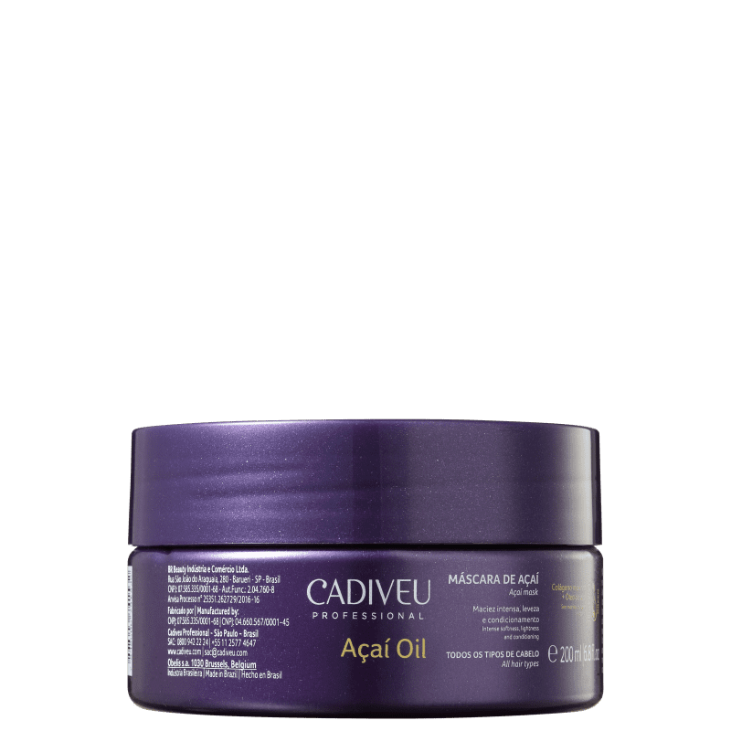 Cadiveu Professional Açaí Oil - Máscara Capilar 200ml