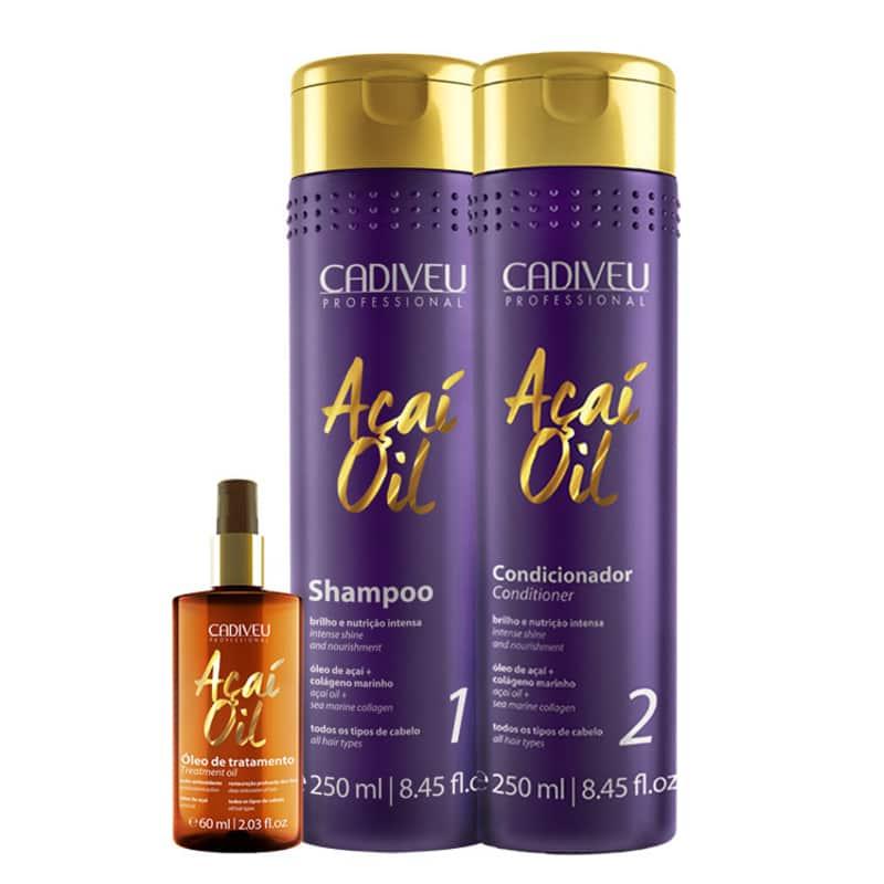 Kit Cadiveu Professional Açaí Oil Natural (3 Produtos)