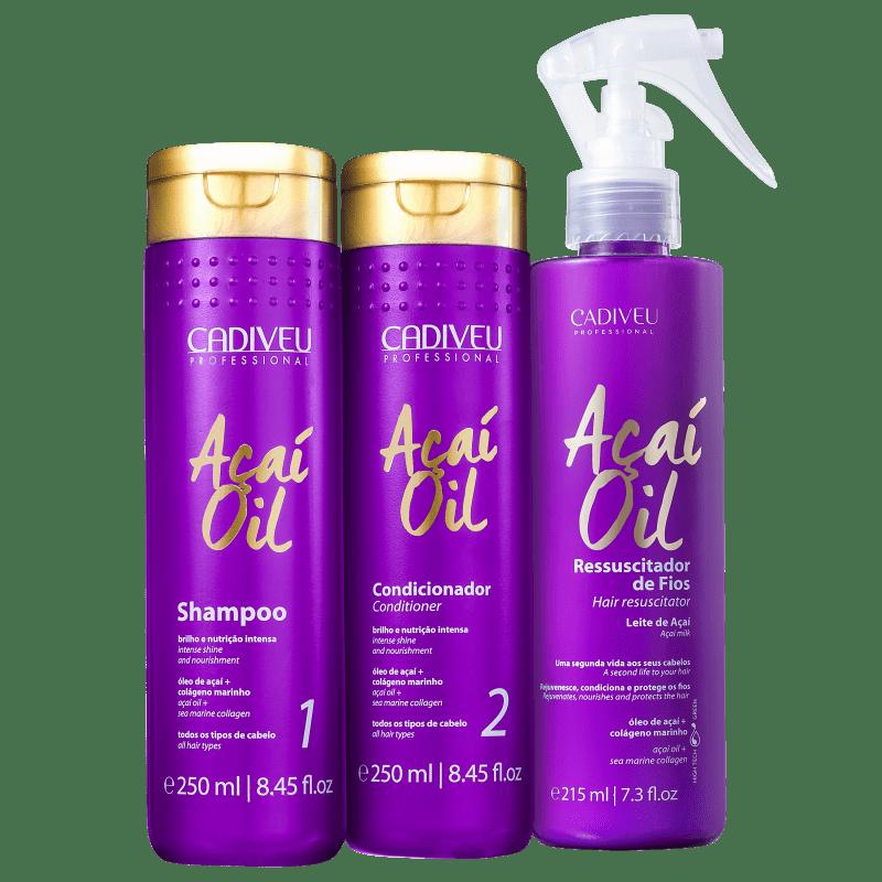 Kit Cadiveu Professional Açaí Oil Proteção Triplo (3 Produtos)