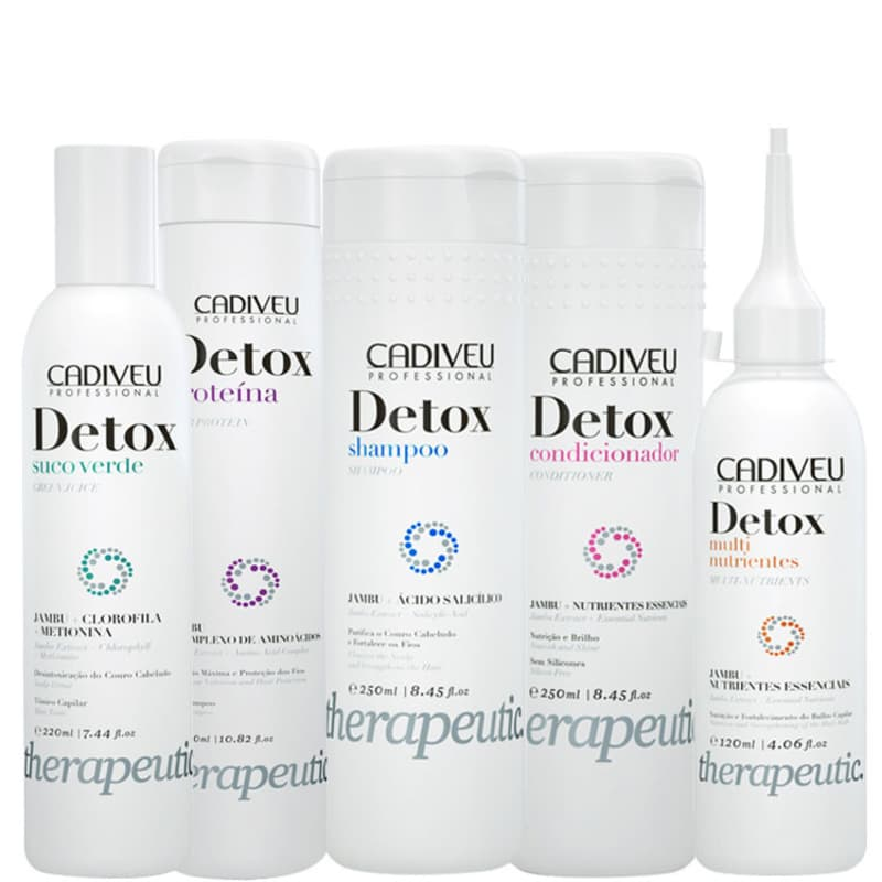 Kit Cadiveu Professional Detox Therapeutic Care (5 Produtos)