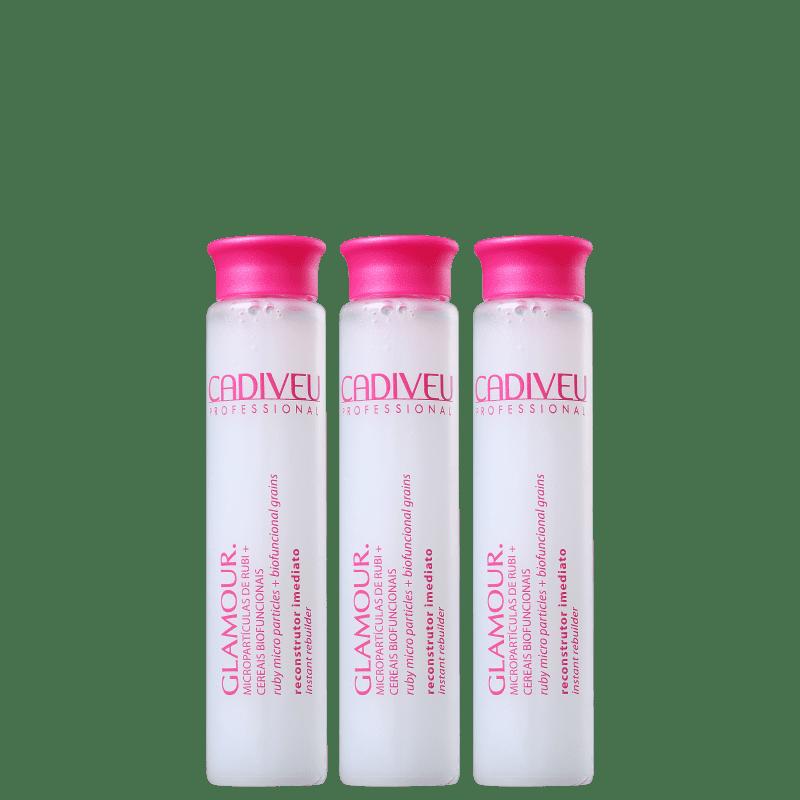 Cadiveu Professional Glamour Rubi - Ampola Capilar 3x15ml