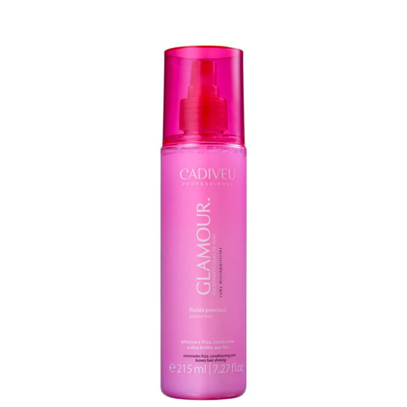 Cadiveu Professional Glamour Rubi Fluido Precioso - Spray Anti-Frizz 200ml
