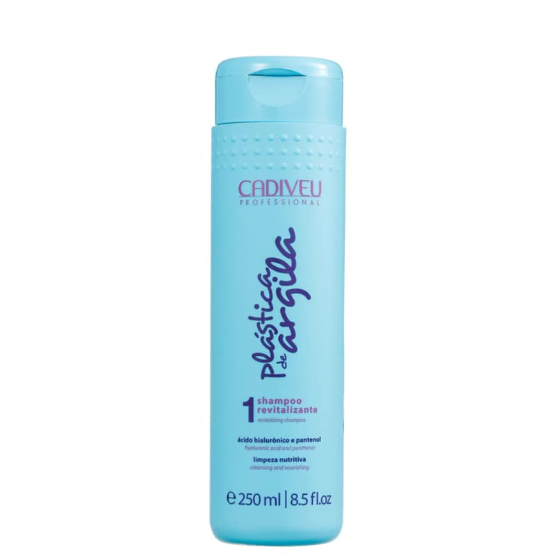 Cadiveu Professional Plástica de Argila Revitalizante - Shampoo 250ml