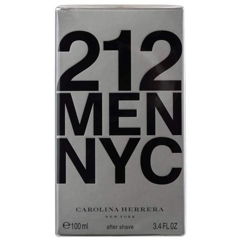 Carolina Herrera 212 Men After Shave Lotion - Loção Pós-Barba 100ml
