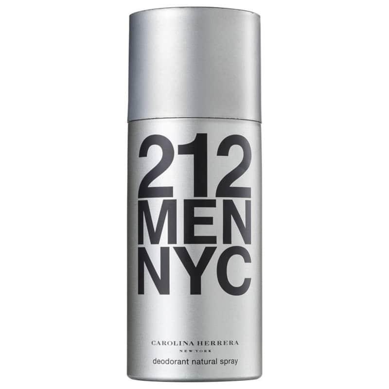 Carolina Herrera 212 Men - Desodorante Spray Masculino 150ml