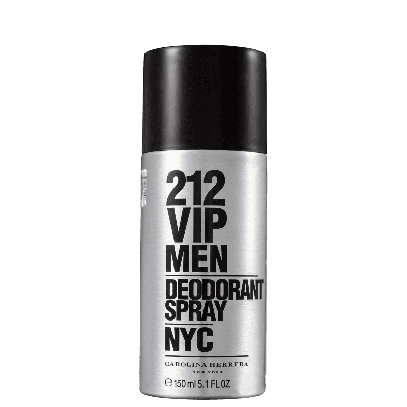 Carolina Herrera 212 VIP Men - Desodorante Spray Masculino 150ml
