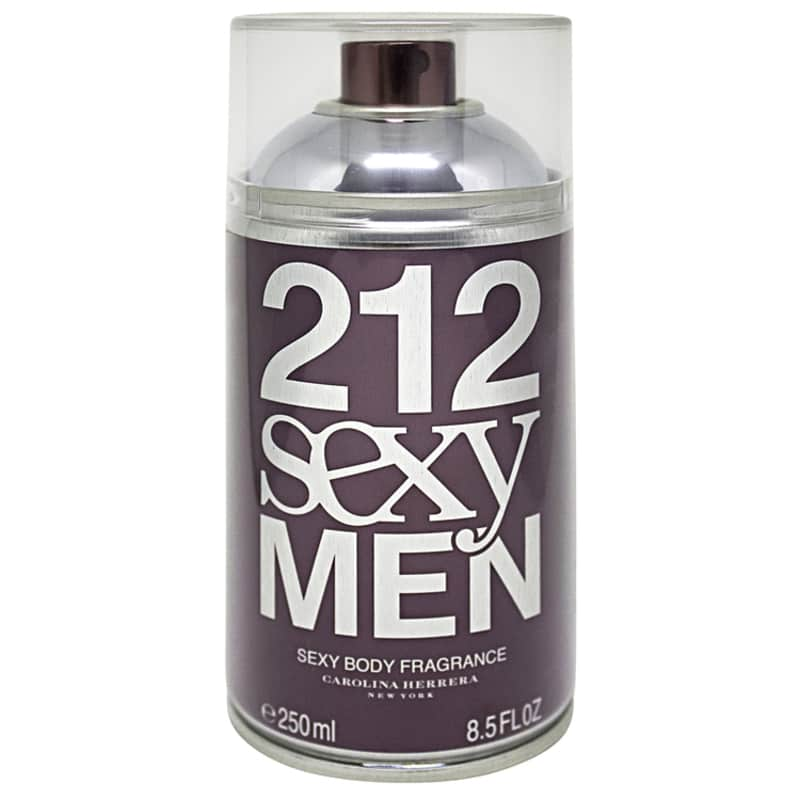 212 Sexy Men Body Carolina Herrera - Body Spray Masculino 250ml