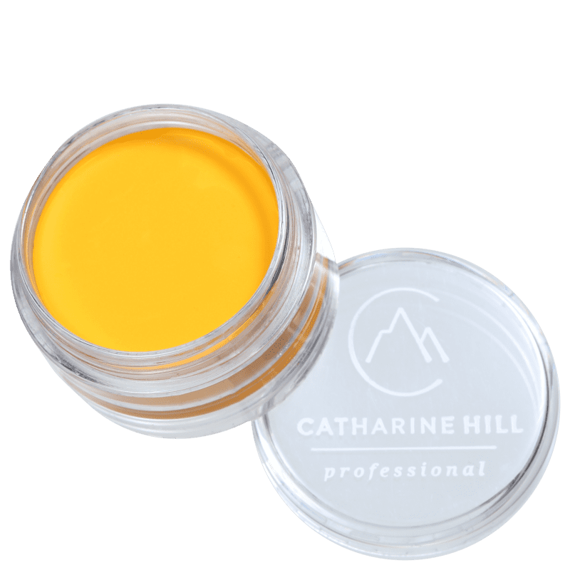 Catharine Hill Clown Make-up Waterproof Mini Amarelo - Sombra Matte 4g