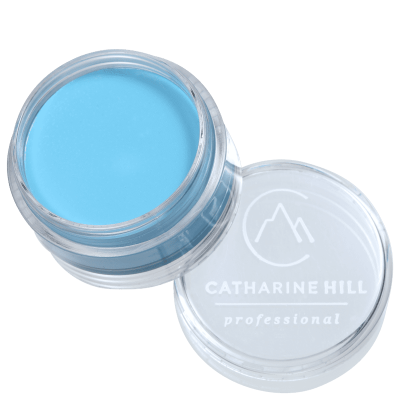 Catharine Hill Clown Make-up Waterproof Mini Brand Blue - Sombra Matte 4g