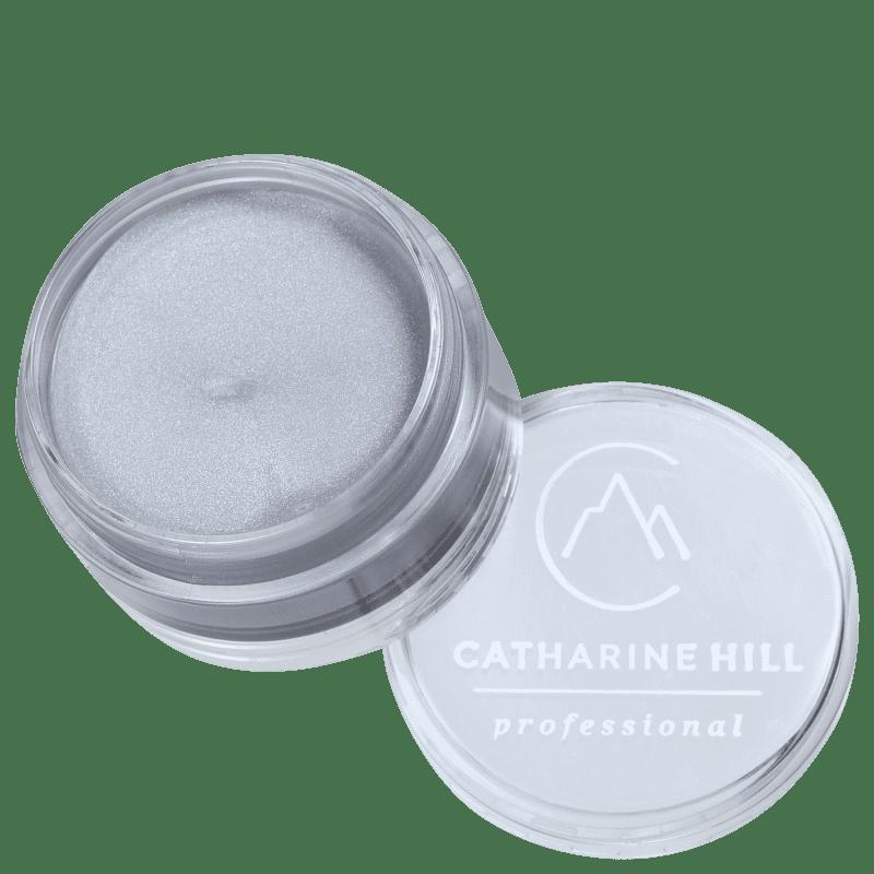 Catharine Hill Clown Make-up Waterproof Mini Prateado - Sombra Matte 4g