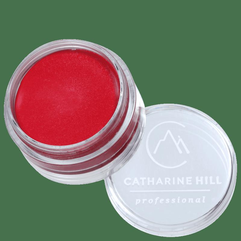 Catharine Hill Clown Make-up Waterproof Mini Vermelho - Sombra Matte 4g