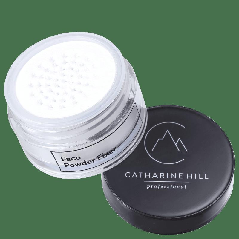 Catharine Hill Face Powder Fixer Branco - Pó Solto Natural 20g