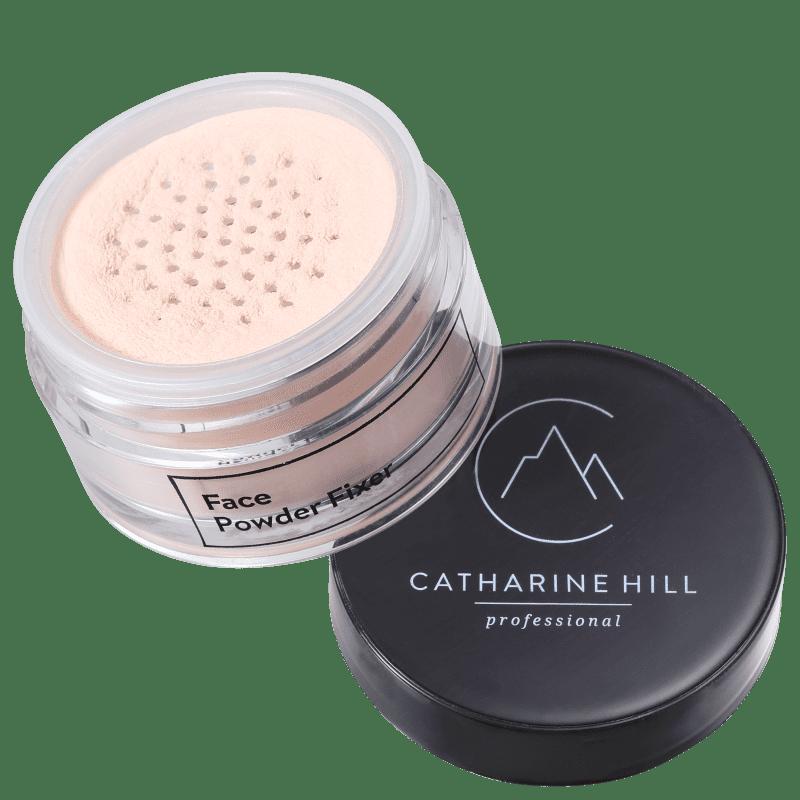 Catharine Hill Face Powder Fixer Rosado - Pó Solto Natural 20g