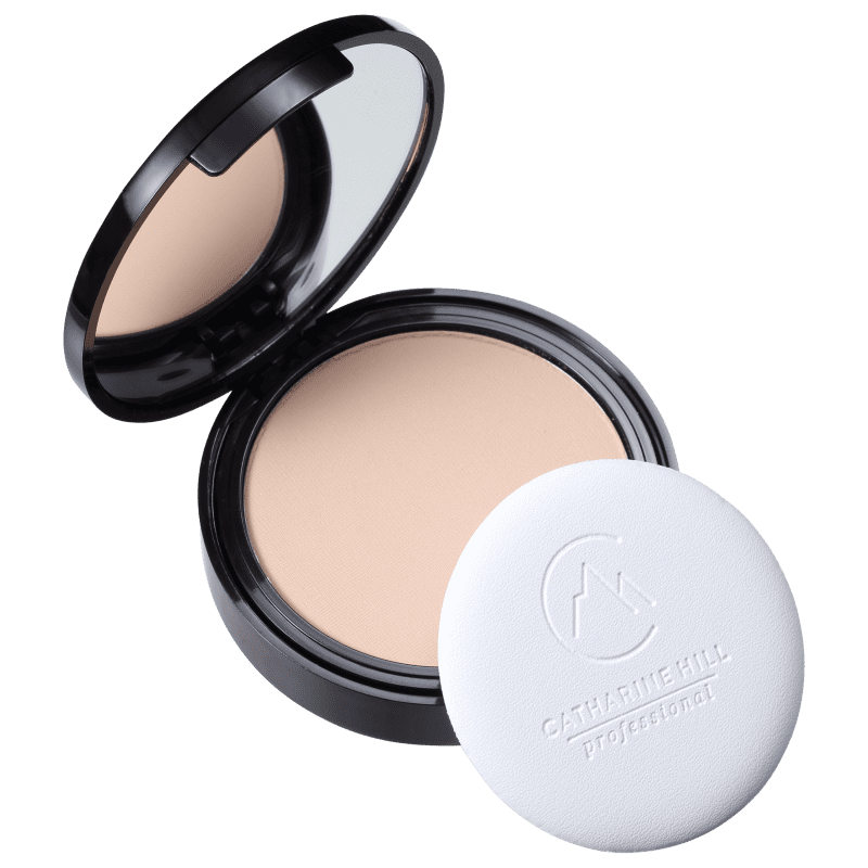 Catharine Hill Pressed Powder Micronizado Bege Médio - Pó Compacto Natural 9g