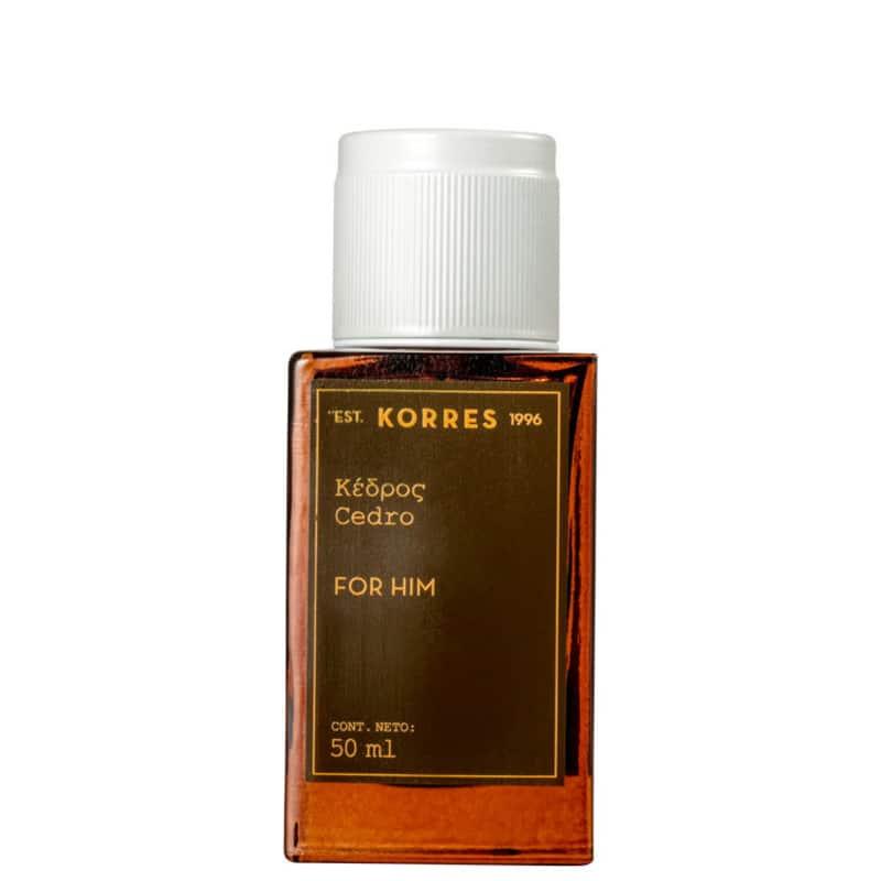 Cedro Korres Eau de Cologne - Perfume Masculino 50ml