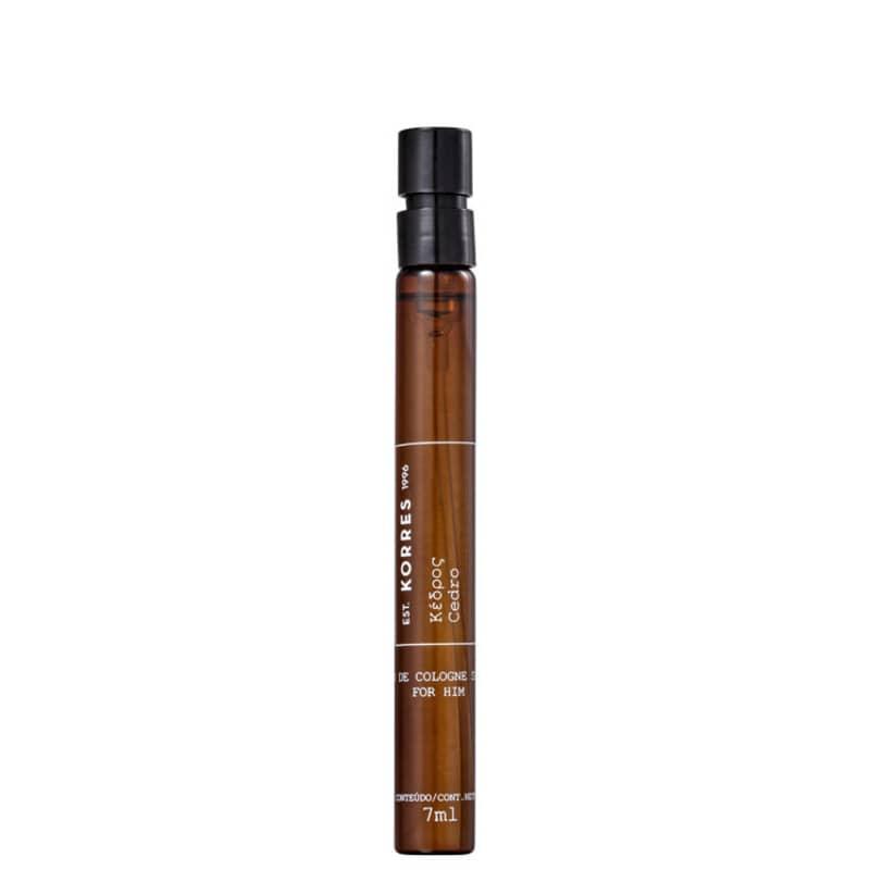Cedro Korres Eau de Cologne - Perfume Masculino 7ml
