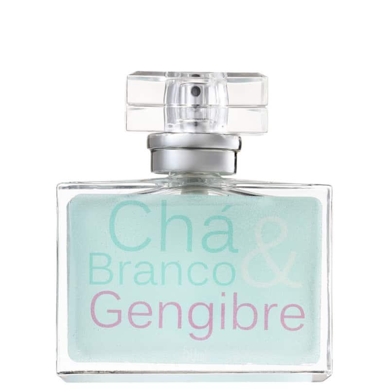 Chá Branco e Gengibre Orgânica Eau de Toilette - Perfume Feminino 50ml