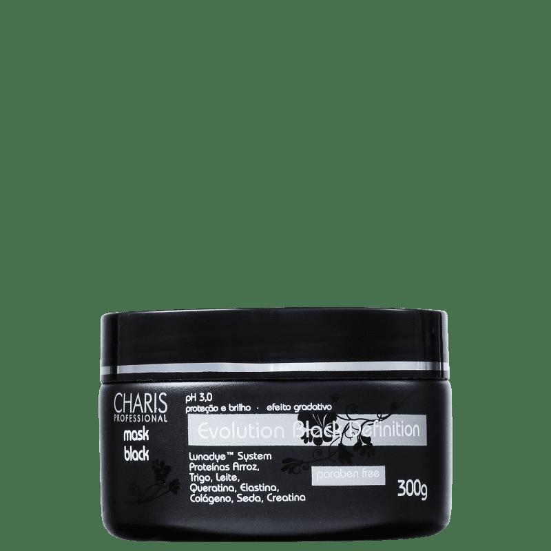 Charis Evolution Black Definition - Máscara Capilar 300g