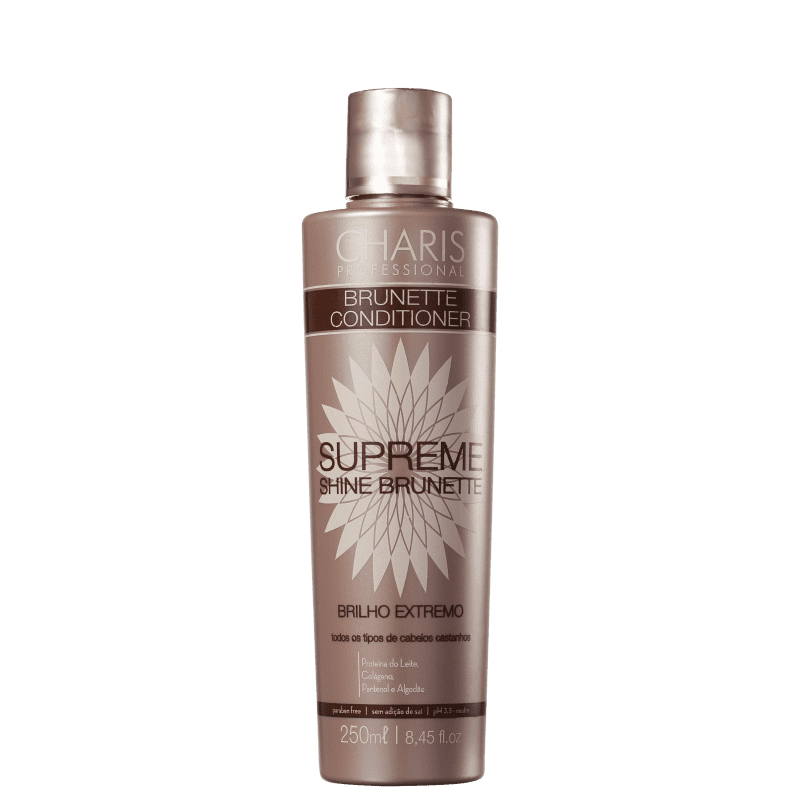 Charis Brunette Supreme Shine - Condicionador 250ml