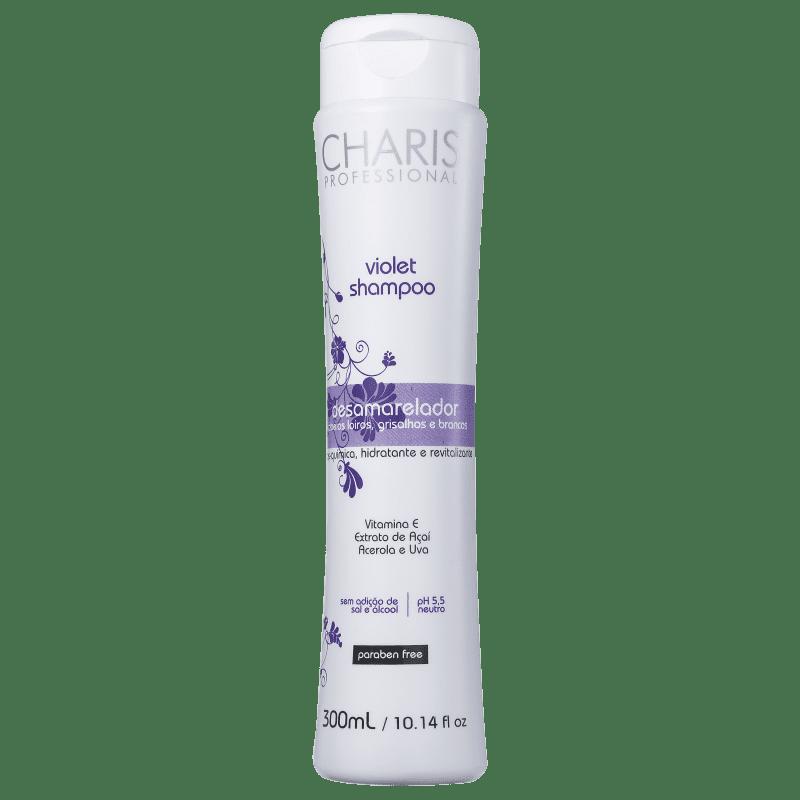 Charis Violet - Shampoo Desamarelador 300ml