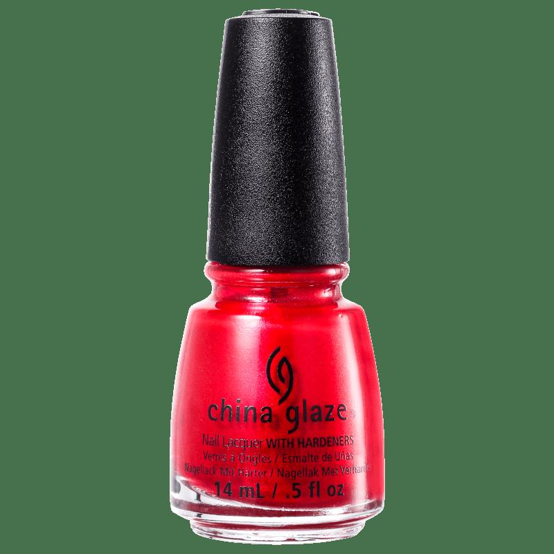 China Glaze Red Pearl - Esmalte Metálico 14ml