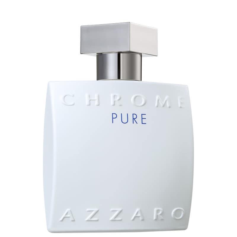 Chrome Pure Azzaro Eau de Toilette - Perfume Masculino 50ml