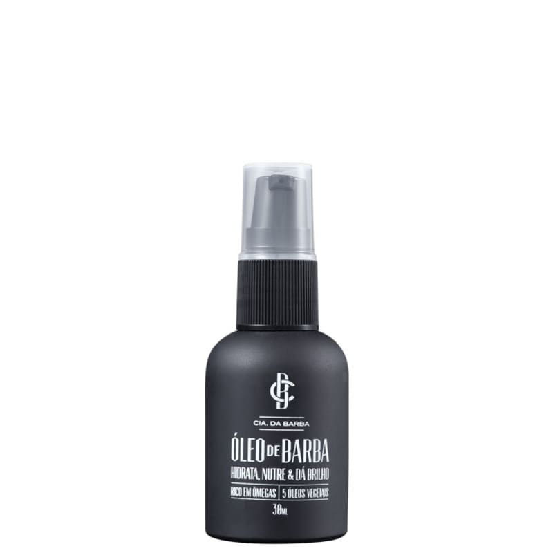 Cia da Barba Mini - Óleo para Barba 30ml