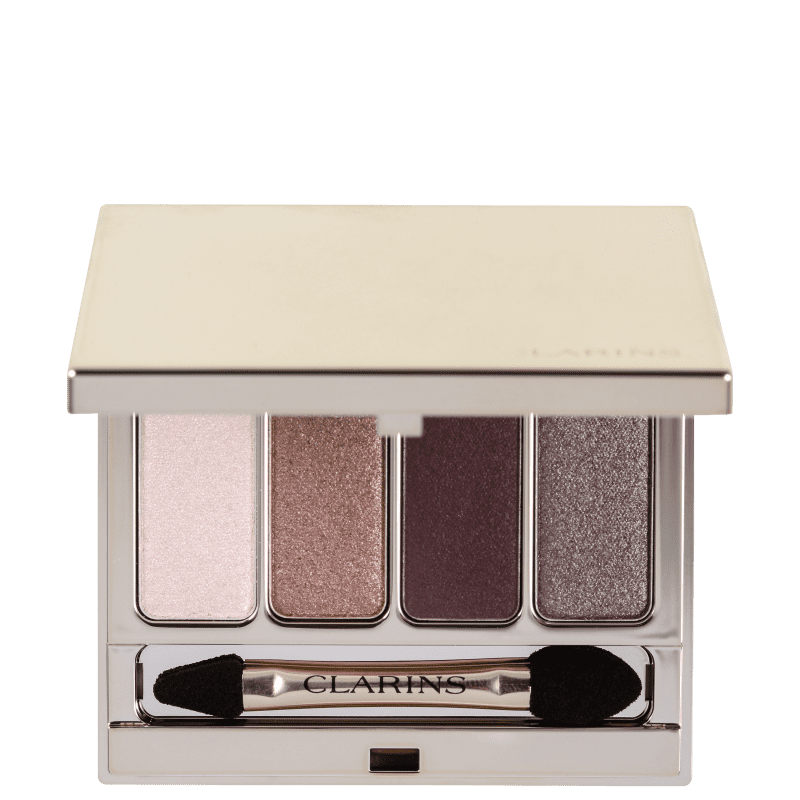 Clarins 4-Colour Eyeshadow Palette N2 Rosewood - Paleta de Sombras 7g