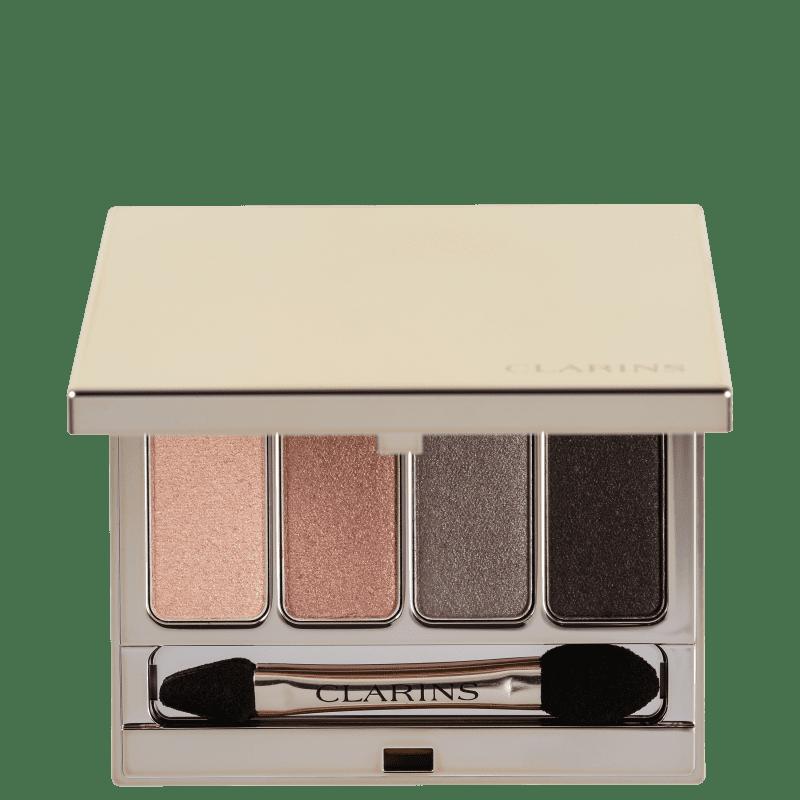 Clarins 4-Colour Eyeshadow Palette N3 Brown - Paleta de Sombras 7g