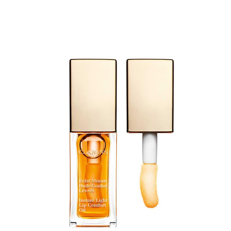 Clarins Instant Light Lip Comfort Oil 01 Honey - Hidratante Labial 7ml