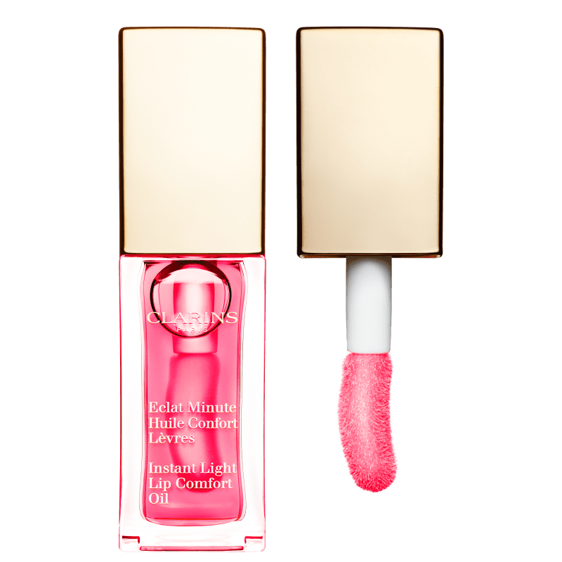 Clarins Instant Light Lip Comfort Oil 04 Candy Pink - Hidratante Labial 7ml