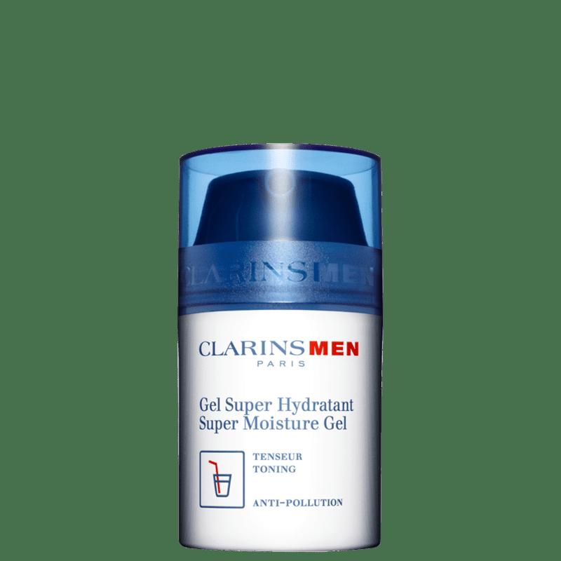 Clarins Men Super Moisture - Gel Hidratante Facial 50ml