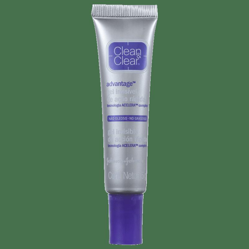 Clean & Clear Advantage Gel Invisível - Gel Secativo para Acne 15g