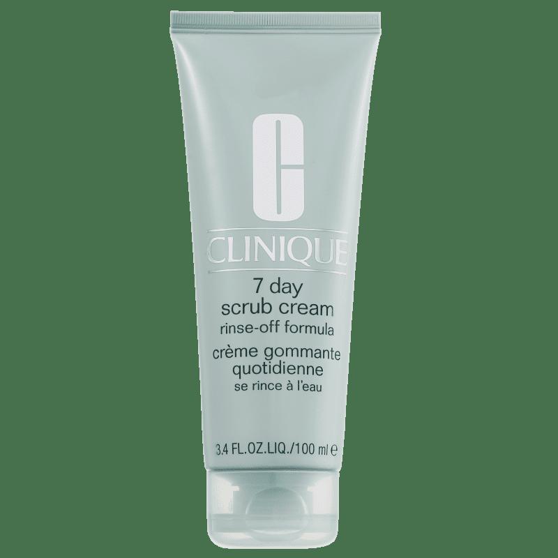 Clinique 7 Day Scrub Cream Rinse Off Formula - Esfoliante Facial 100ml