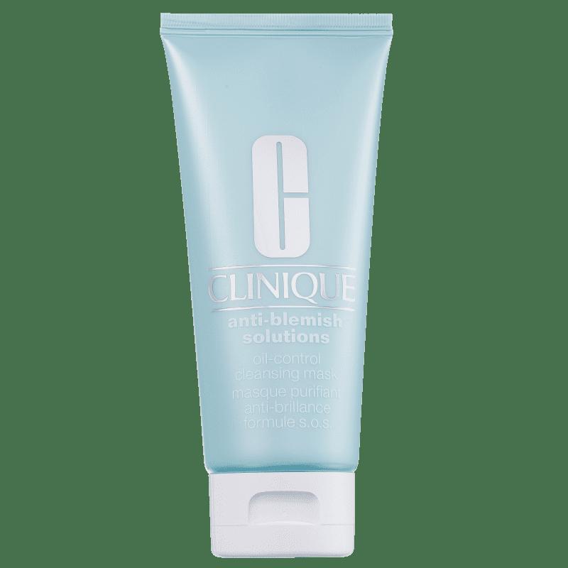 Clinique Anti-Blemish Solutions Oil Control - Máscara de Limpeza Facial 100ml