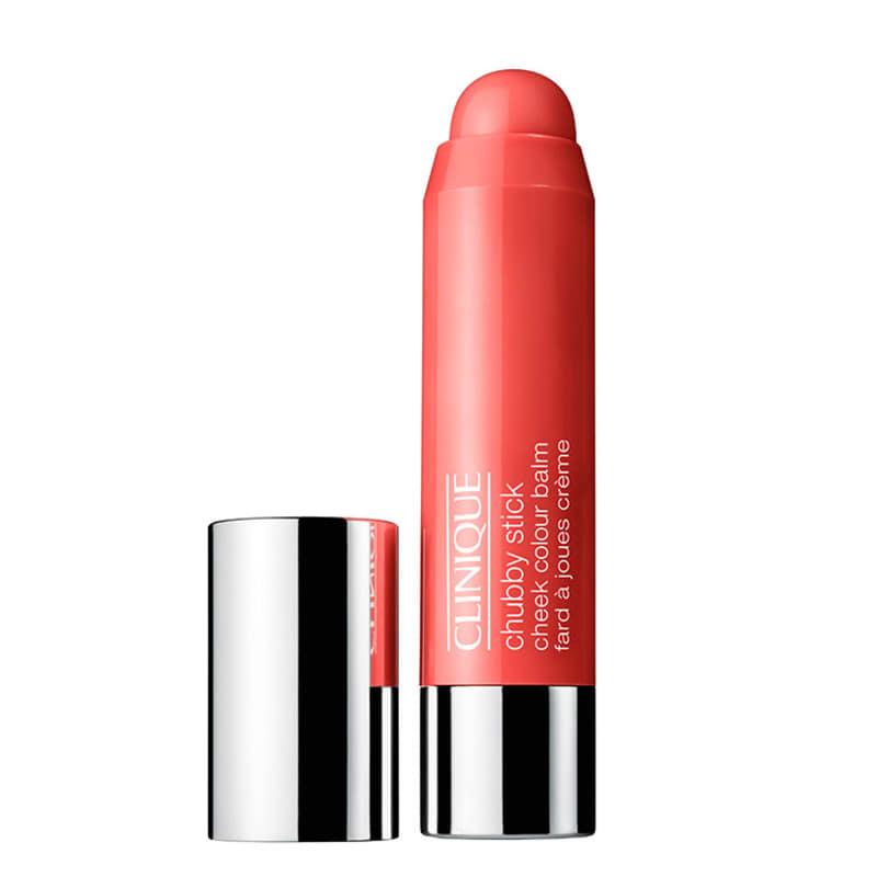 Clinique Chubby Stick Cheek Colour Balm Robust Rhubarb - Blush Natural 6g