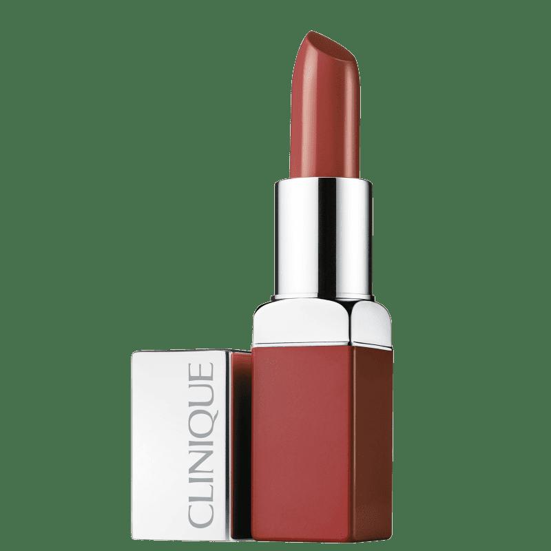 Clinique Pop Lip Colour + Primer Mocha - Batom Cremoso 3,9g