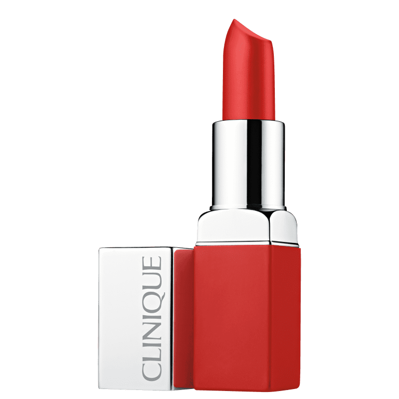 Clinique Pop Matte Lip Colour + Primer Ruby Pop - Batom Matte 3,9g