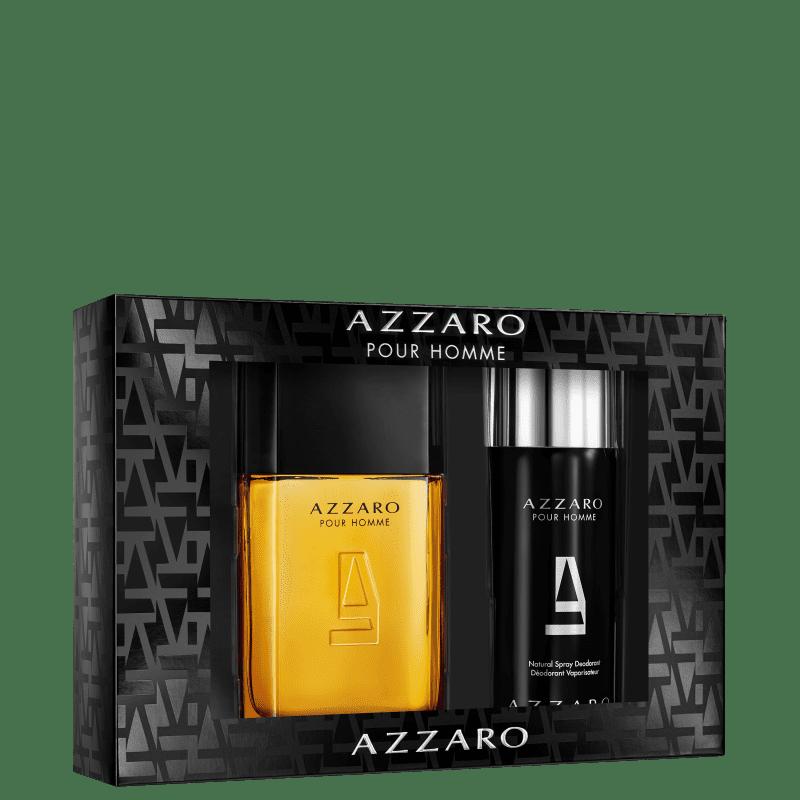 Conjunto Azzaro Pour Homme Body Masculino - Eau de Toilette 100ml + Desodorante 150ml