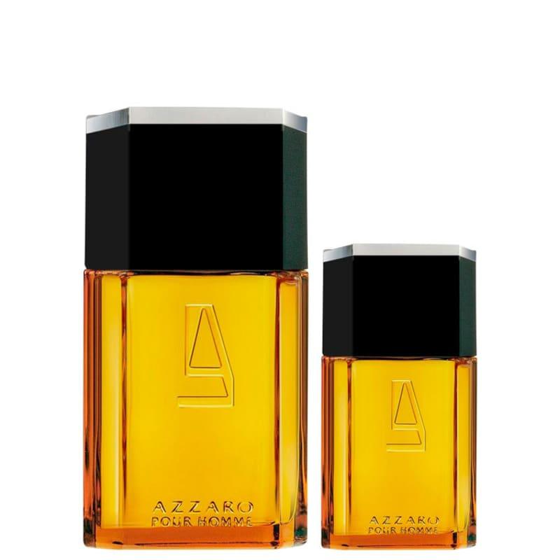 Conjunto Azzaro Pour Homme Masculino - Eau de Toilette 200ml + Eau de Toilette 30ml