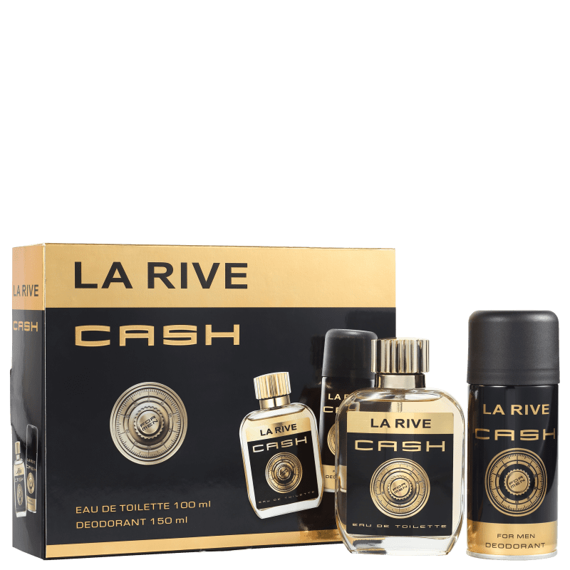 Conjunto Cash La Rive Masculino - Eau de Toilette 75ml + Desodorante 150ml