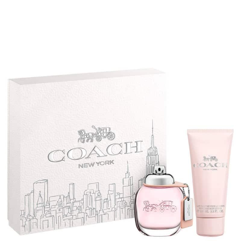 Kit Perfume Coach Feminino Eau de Toilette 50ml + Body Lotion 100ml Único