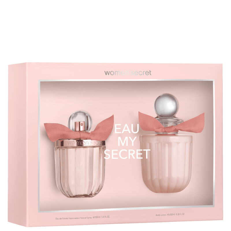 Conjunto Eau My Secret Women'Secret Feminino - Eau de Toilette 100ml + Loção Corporal 200ml