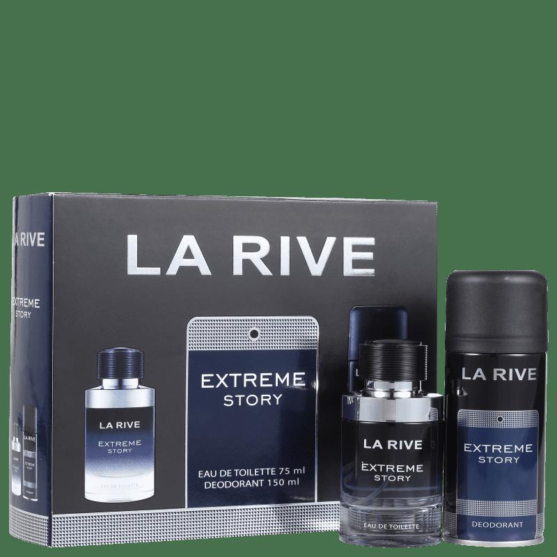 Conjunto Extreme Story La Rive Masculino - Eau de Toilette 75ml + Desodorante 150ml
