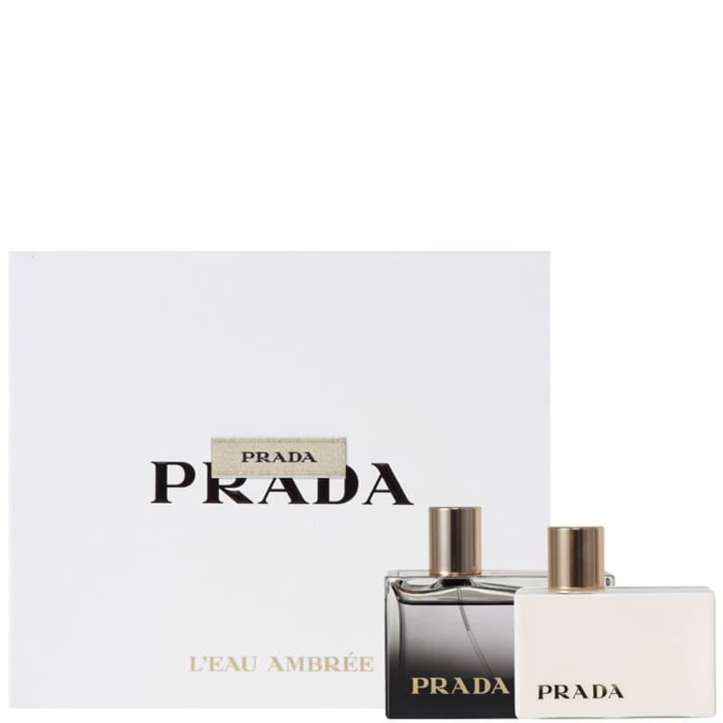 PRADA Conjunto Feminino m L Eau Ambrée - Eau de Parfum 80ml + Loção 100ml 39d627a8d4
