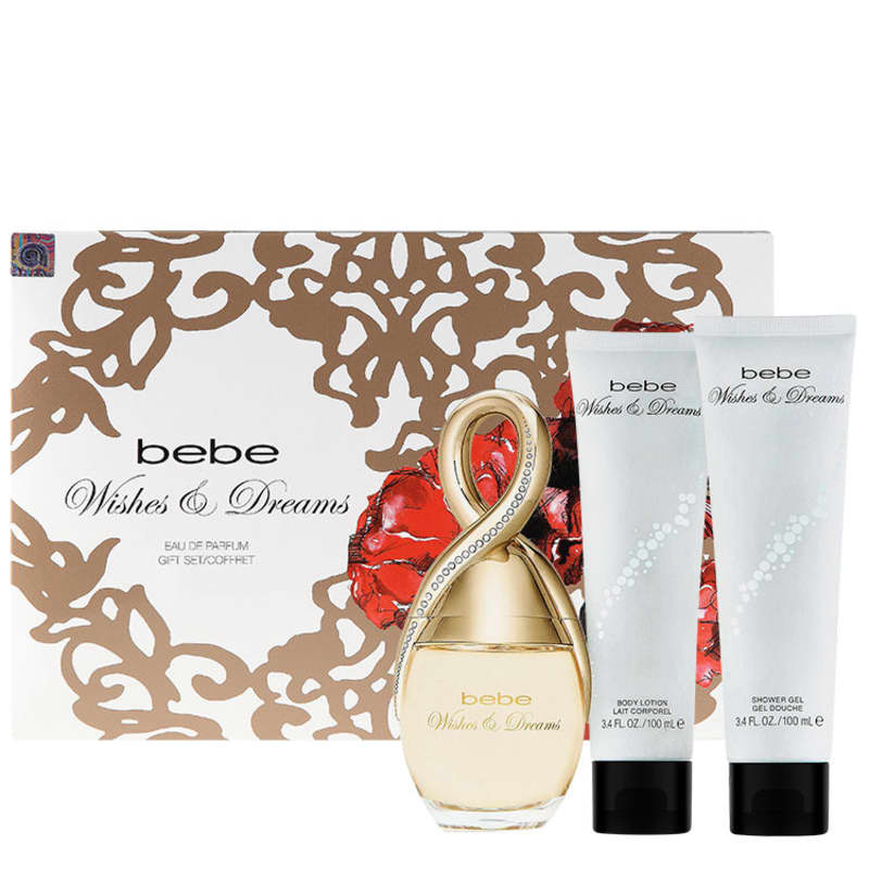 Conjunto Wishes and Dreams Bebe Feminino - Eau de Parfum 100ml + Loção 100ml + Gel 100ml