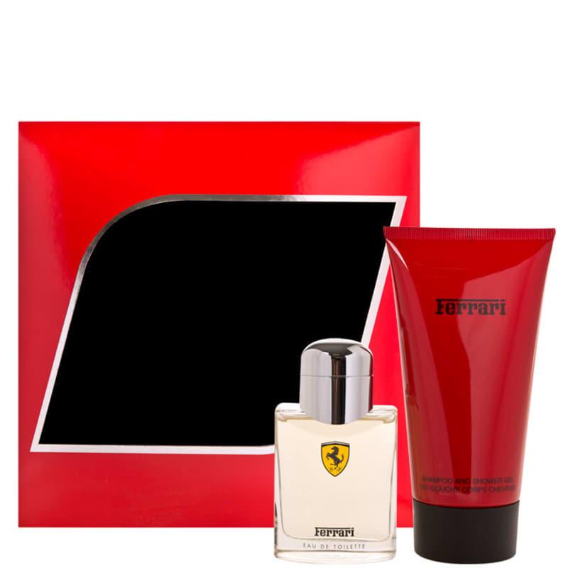 Ferrari Conjunto Masculino Red Special Set - Eau de Toilette 75ml + Shampoo Shower Gel 150ml